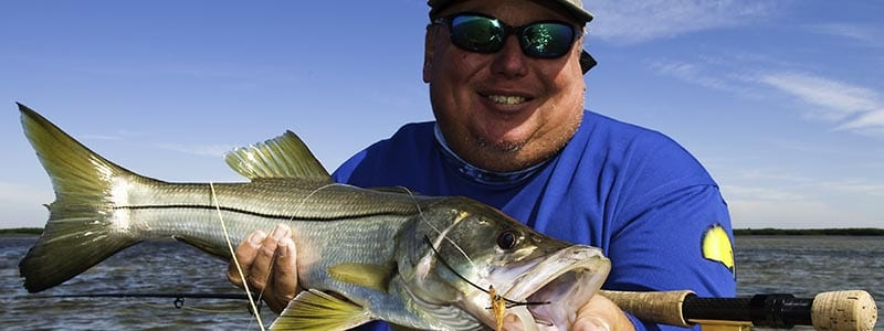 Tampa Fishing Guide Jim Lemke on Charter Boat