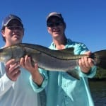 St Petersburg charter fishing for snook